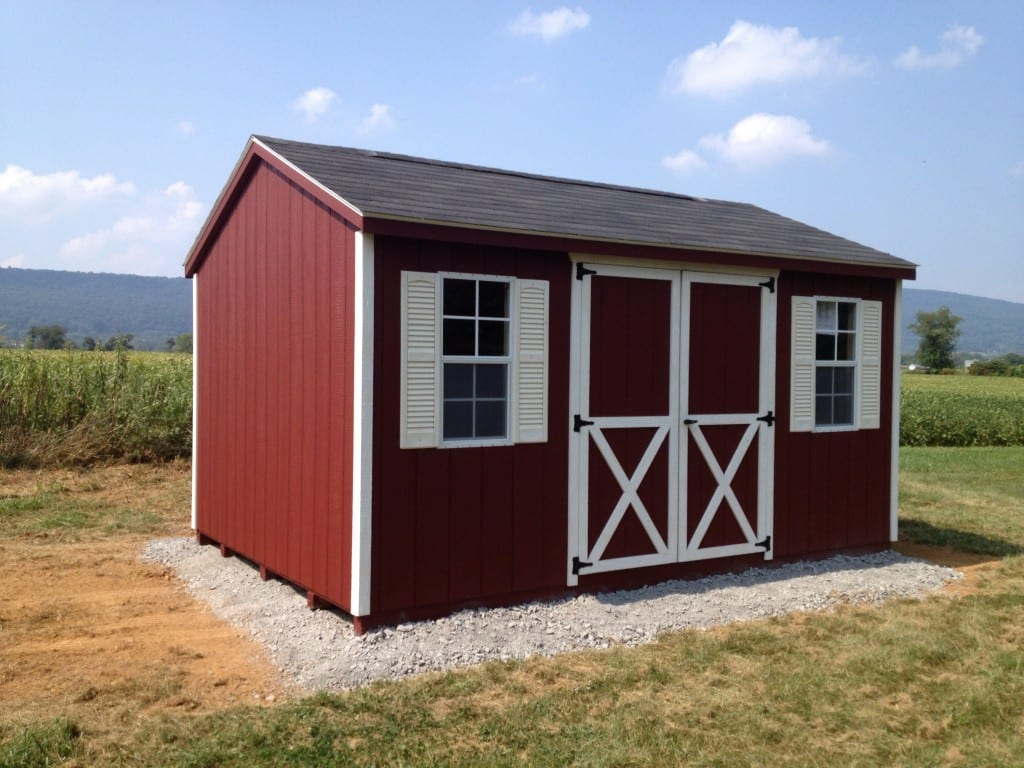 Storage Shed Delivered To Jefferson Maryland