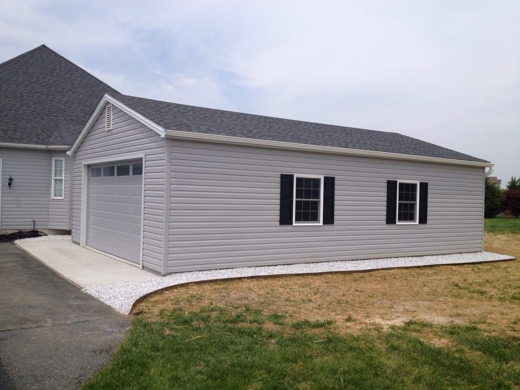 Custom garage built in maryland 4 outdoor for Garage built ins