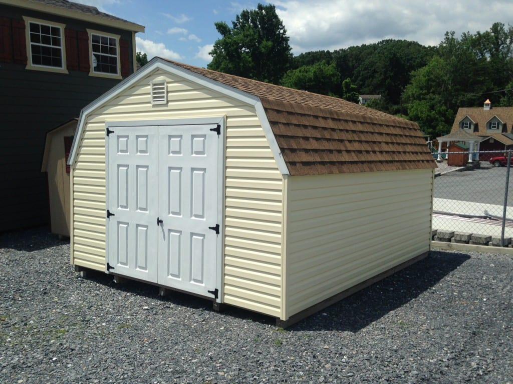 12x14 vinyl mini barn storage shed for sale for 12x18 shed window