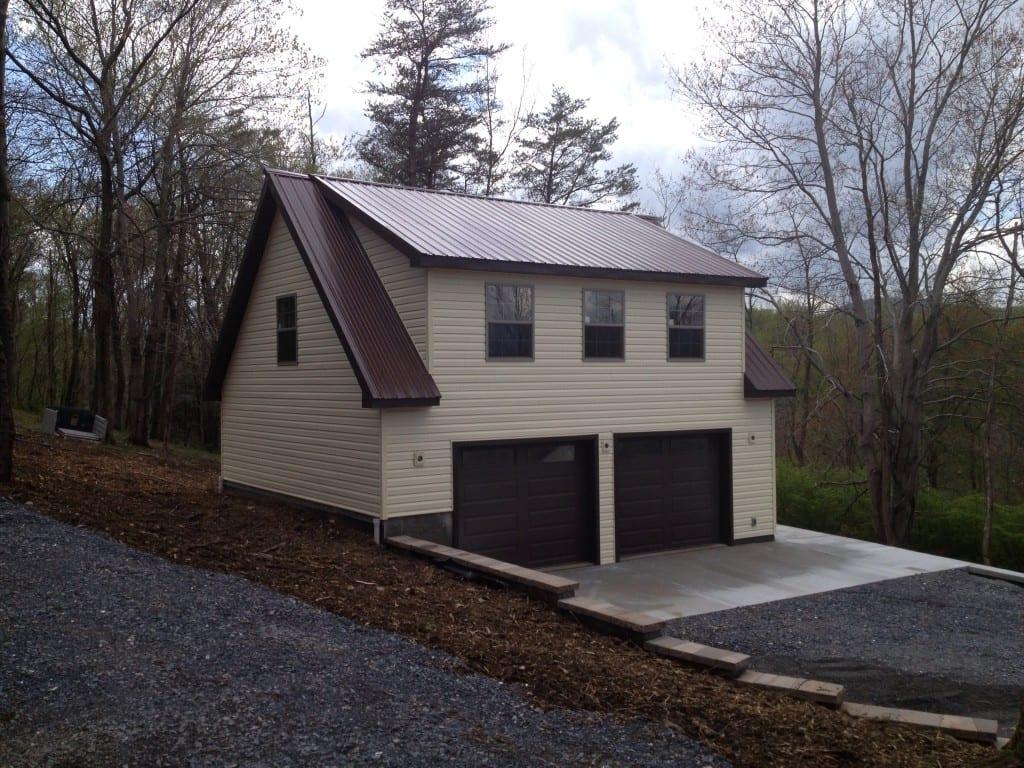 Custom Two Story Garage Builder - 4-Outdoor (301) 898-3400