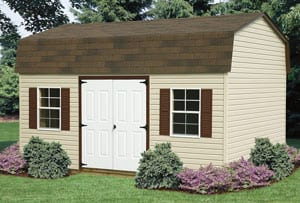 Gambrel Roof Storage Shed for Sale