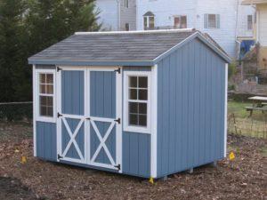 Duratemp standard portable storage shed