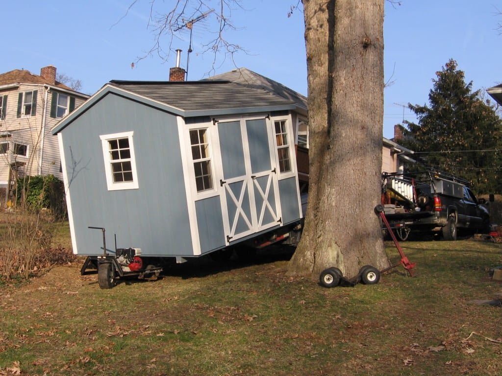 storage-shed-removal-with-wheels