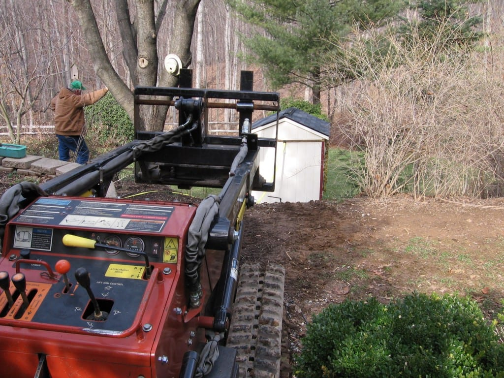 utility-shed-removal-with-skid-loader
