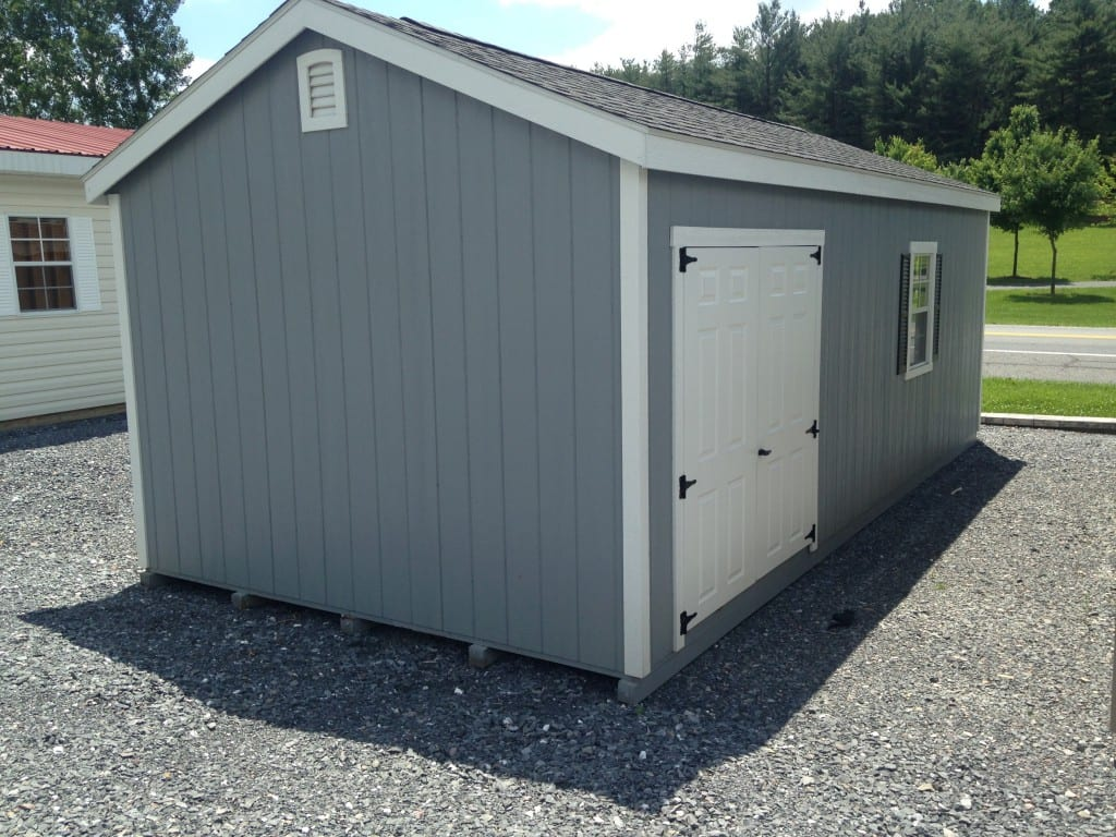 One Car Portable Garage For Sale Single Portable Garages: SOLD #4191 12x24 Duratemp Portable Garage For Sale $5212