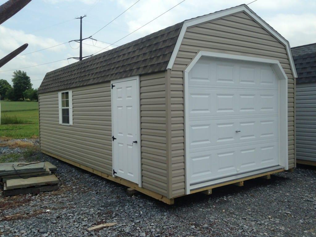 12x24 Prefab Garage For Sale Maryland 4 Outdoor