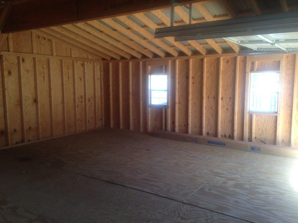 2 car modular garage delivered for sale