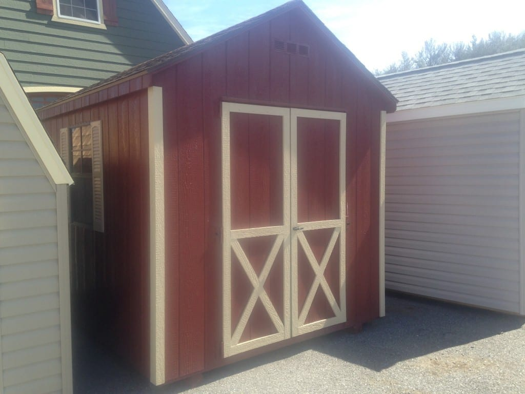 8x10 A-Frame Storage Shed for sale