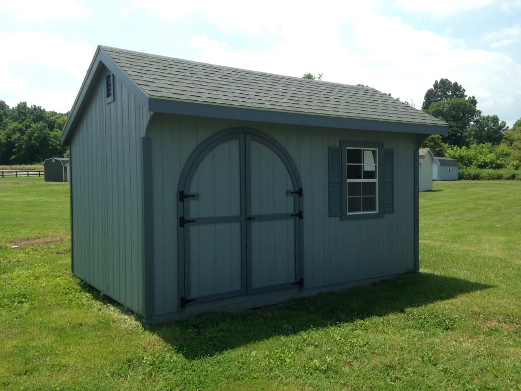 1984 10 215 14 Duratemp Quaker Deluxe Shed For Sale Quaker