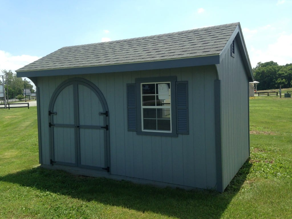 #1984 10×14 Duratemp Quaker Deluxe Shed For Sale Quaker ...