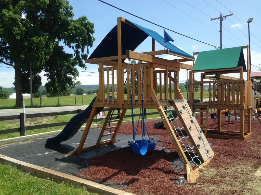 Sold 4554 Wooden Swing Set For Sale 1587 Boonsboro Md