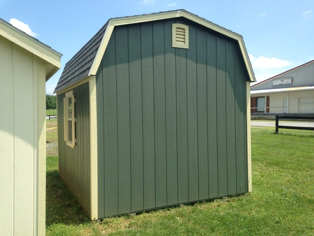 Sold 1987 10 12 dutch barn deluxe for sale 2384 for Outdoor storage buildings for sale