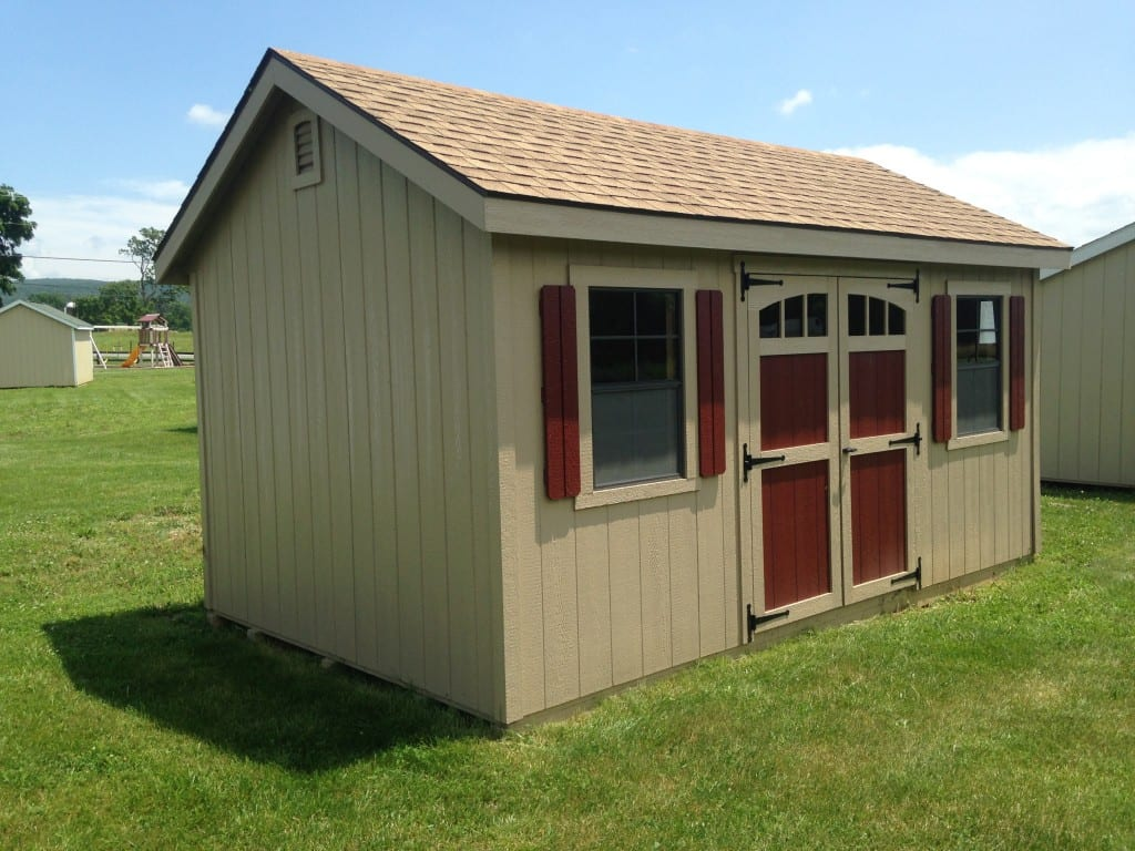 Sold 1985 10 16 wooden storage shed for sale 3080 for Small outdoor sheds for sale