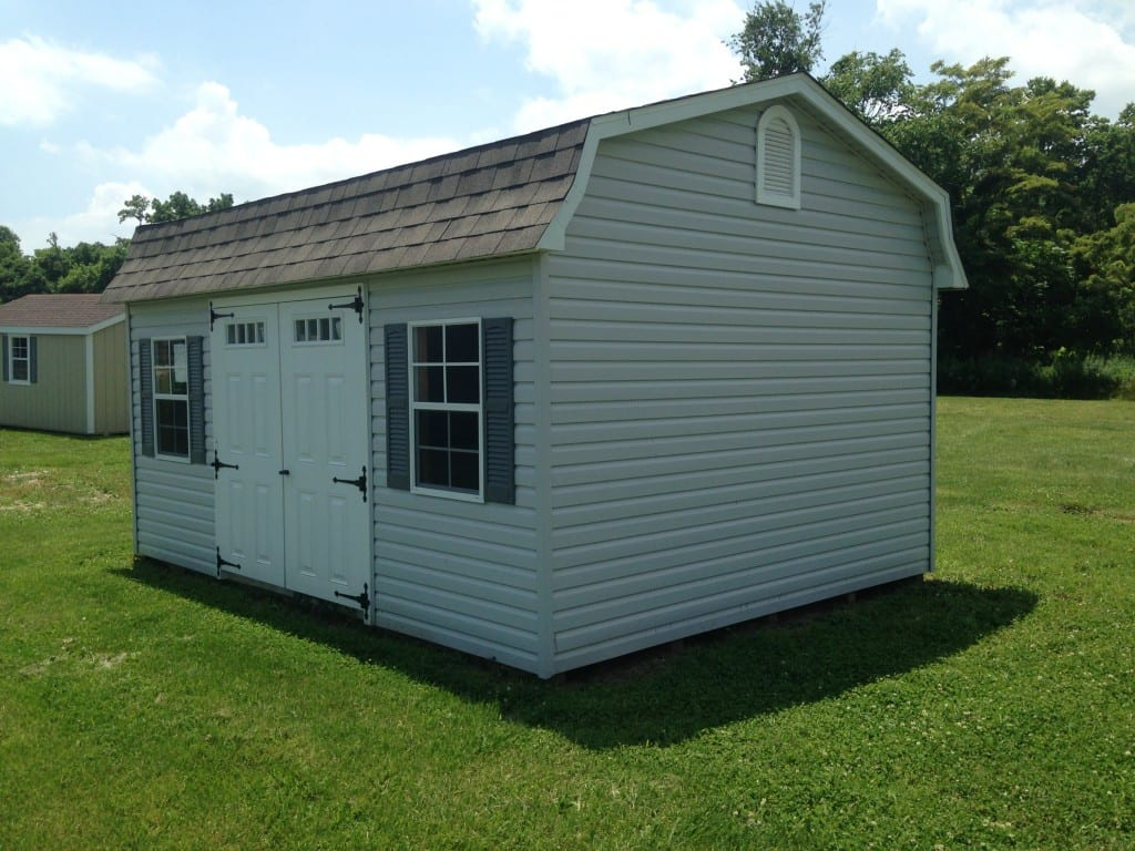 Sold 2005 12 16 high wall storage barn for sale 4307 for Cheap outdoor sheds for sale