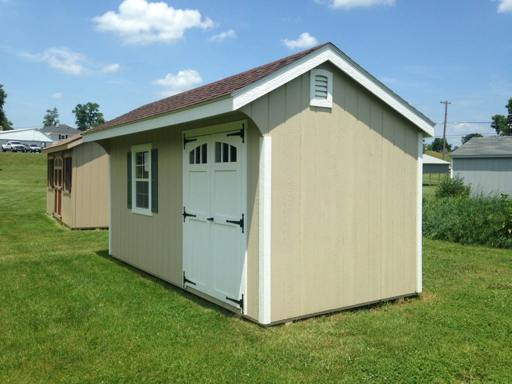 1986 8 16 quaker deluxe shed for sale cheap 2954 for Cheap garden office buildings