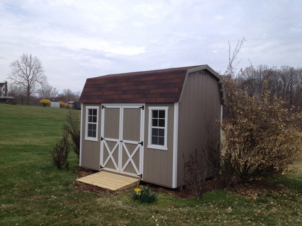 Genial ... Storage Barn Delivered To Germantown Maryland After Old Storage Shed  Was Removed