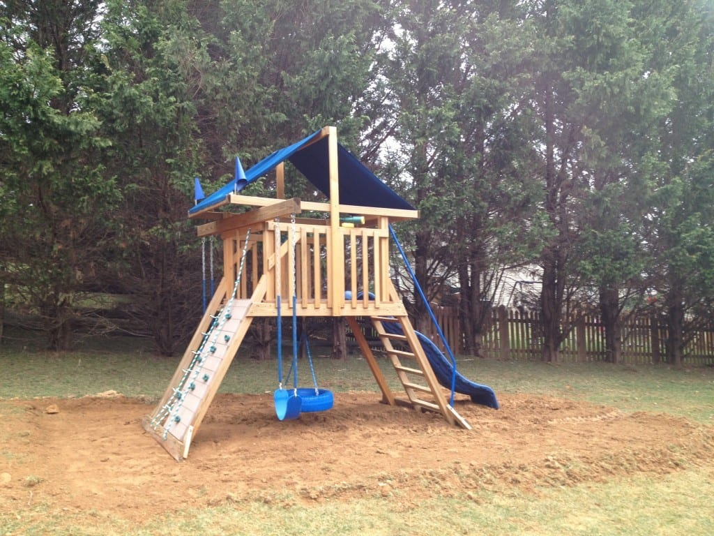 Cheap Playset Sold in Boonsboro   4-Outdoor