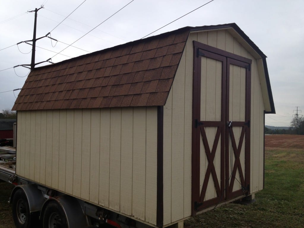 storage shed removal